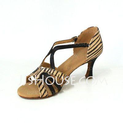 Chaussures de danse - $33.99 - Femmes Pailletes scintillantes Suède Talons Sandales Latin Chaussures de danse (053026480) http://jjshouse.com/fr/Femmes-Pailletes-Scintillantes-Suede-Talons-Sandales-Latin-Chaussures-De-Danse-053026480-g26480?pos=best_selling_items_242
