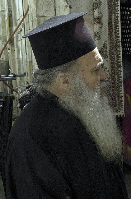 Priest of the Greek Orthodox Church . Israel