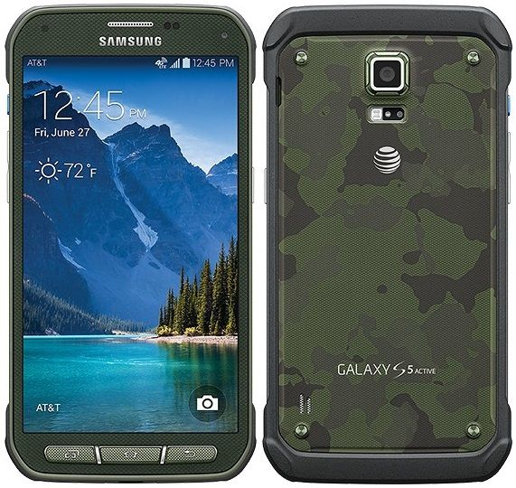 AT&T Samsung Galaxy S5 Active KitKat Update Andriod 4.4.2