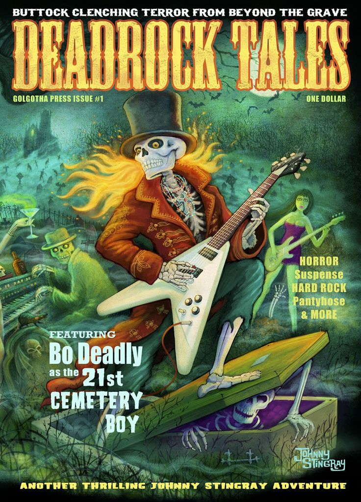 Deadrock Tales Cover by Johnny Stingray