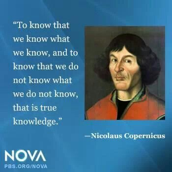 Nicolaus Copernicus Quote
