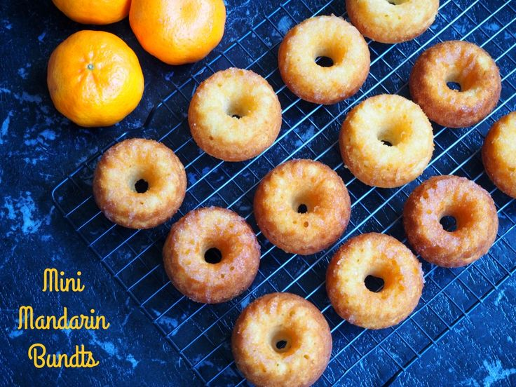 Mini Mandarin Bundts