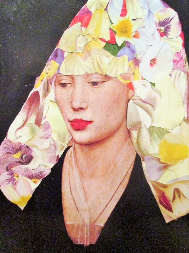 The Woman With the Flowered Veil