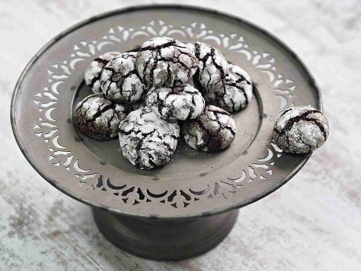 Čokoládové crinkles   Na skok v kuchyni