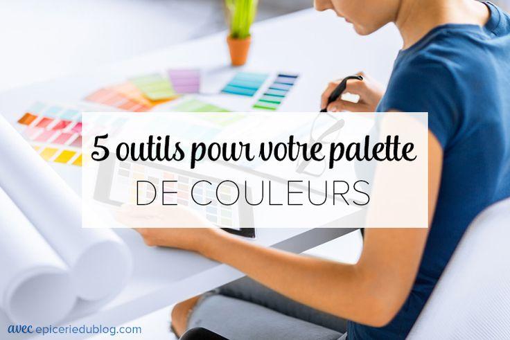 Créez votre palette de couleurs grâce à ces outils et inspirations. Pour votre design de blog, choisissez 2 à 3 couleurs maximum.