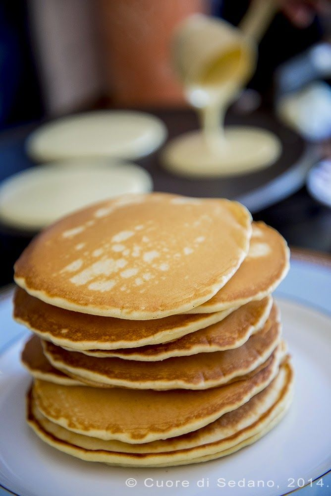cuore di sedano: Buttermilk Pancakes - Pancakes al Latticello