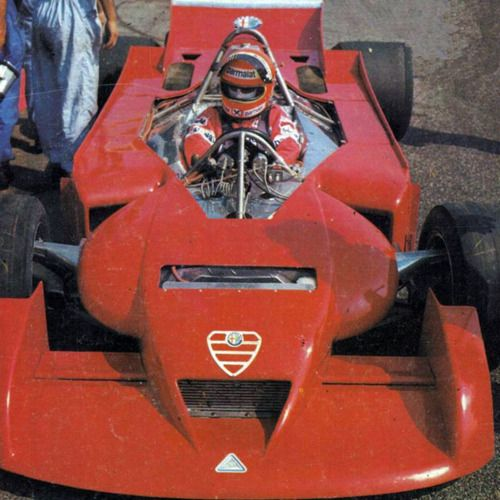 niki lauda 1978 | Niki Lauda , testing the Alfa 177 in 1978, at Paul Picard.