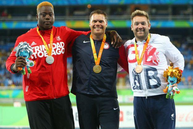 Dan Greaves: Bronze in men's F44 discus