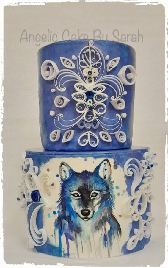 Best 25 Wolf Cake Ideas On Pinterest Dog Bday Cake