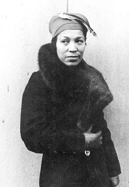 a portrait of zora neale hurston by carl van vechten. << #blackbeauty #ZETA PHI BETA