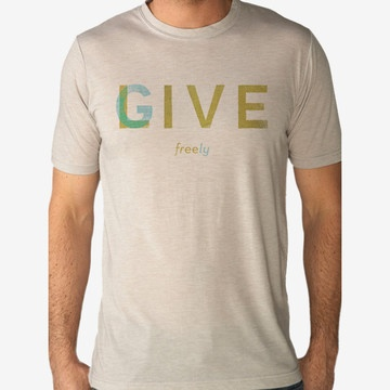 Live Free Give Freely Men's Tee