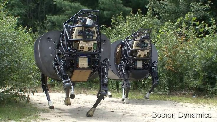 ラバ型ロボットLS3がすごく怖いぞ!アメリカ海兵隊四足歩行ロボット