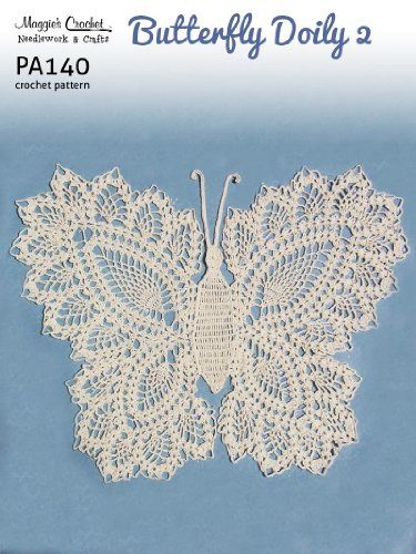 Free Crochet Patterns For Butterfly Doilies : 1000+ ideas about Crochet Doily Patterns on Pinterest ...
