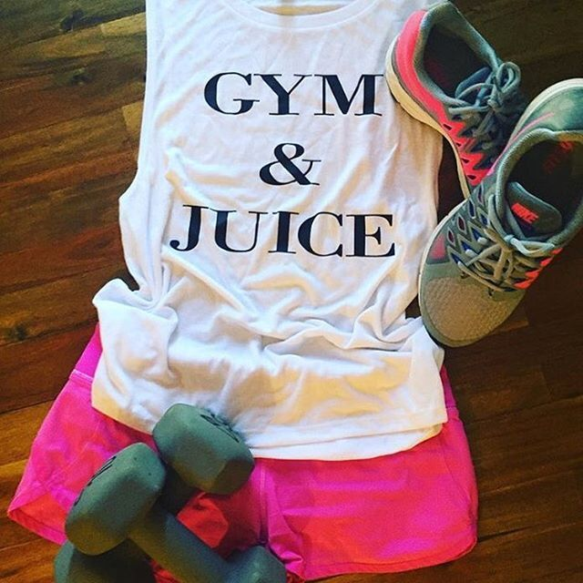 Start your day with gym and juice! Muscle style tank available in S-XL $28 inbox us to order your today! #gymandjuice #ginandjuice #workout #workouttanks  #gym #gymlife #fitness #fitlife #fitchick #fitgirls #fitmom #fitforlife #gymwear #gymtanks #funnytanks  #personaltrainer #fitnesstrainer #cocktails #gymthencocktails #sassymouthtees
