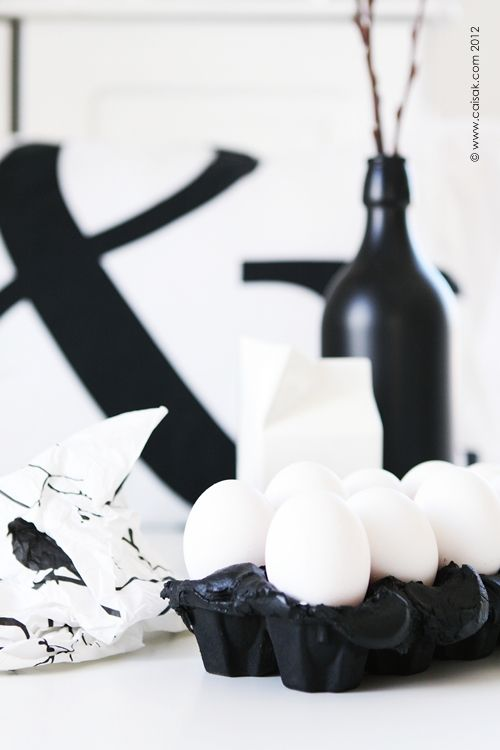 for those of you who want a black and white easter