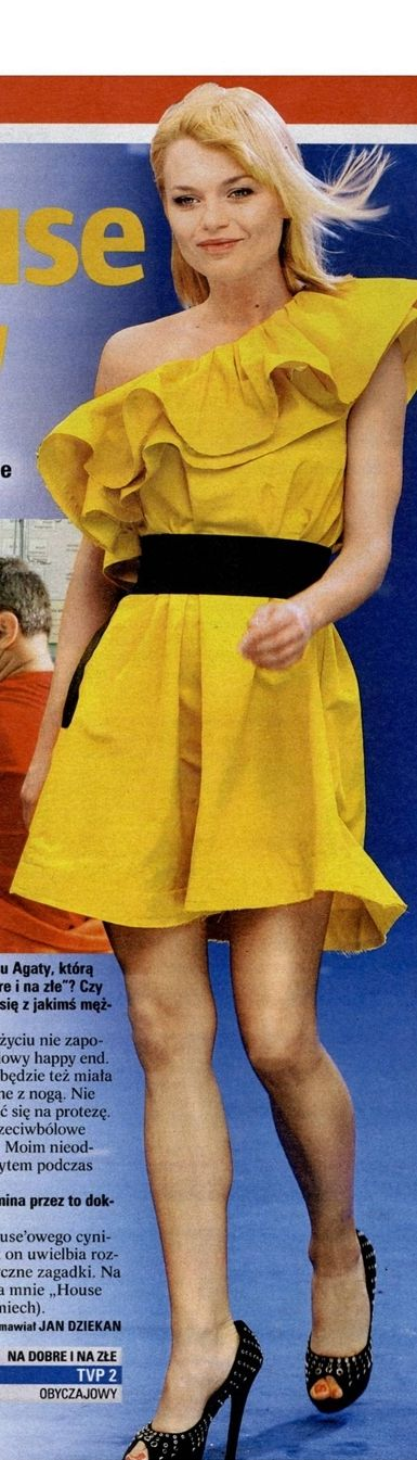 Emilia Komarnicka nogami << wikiFeet