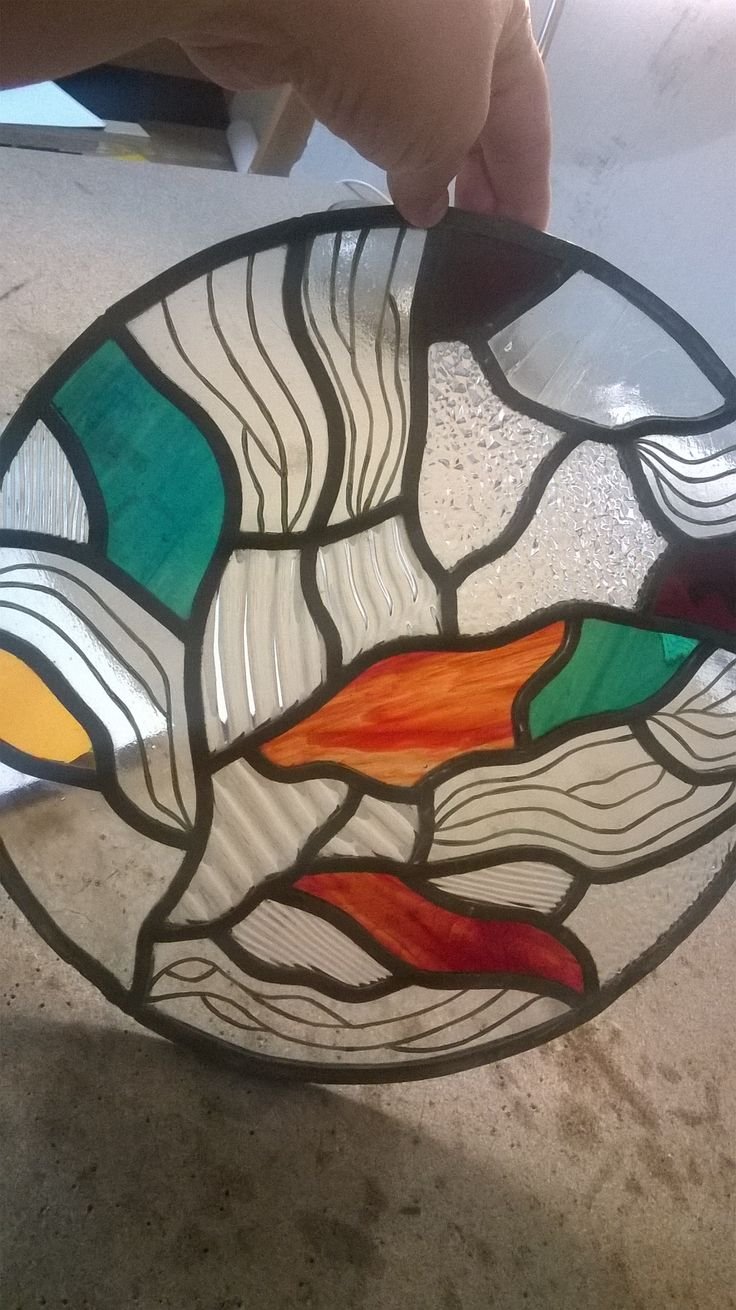 """Susan's steined glass """"NATURAL"""""""