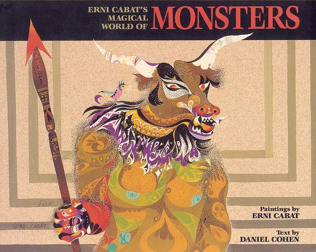 Ernie Cabat: Monsters 1992, Minotaur, Liberalism Art, Cabat Magic, Photo, Erni Cabat, Monsters Brain