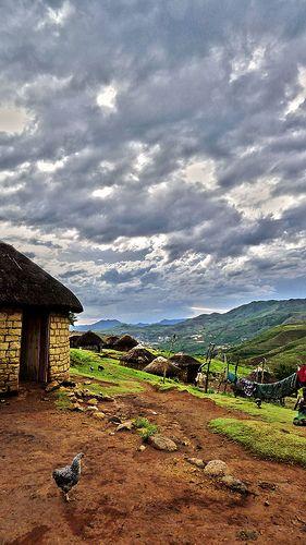 Basotho Hut in Lesotho