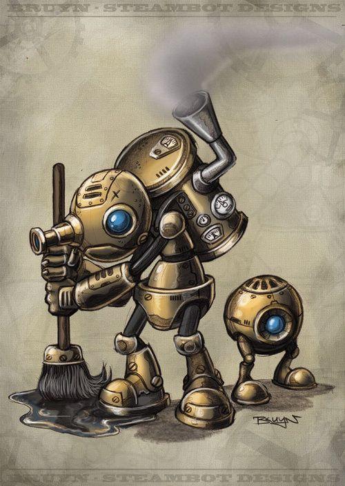 亗 Dr. Emporio Efikz 亗 blog | Steam Robots #Steampunk #Digitalart