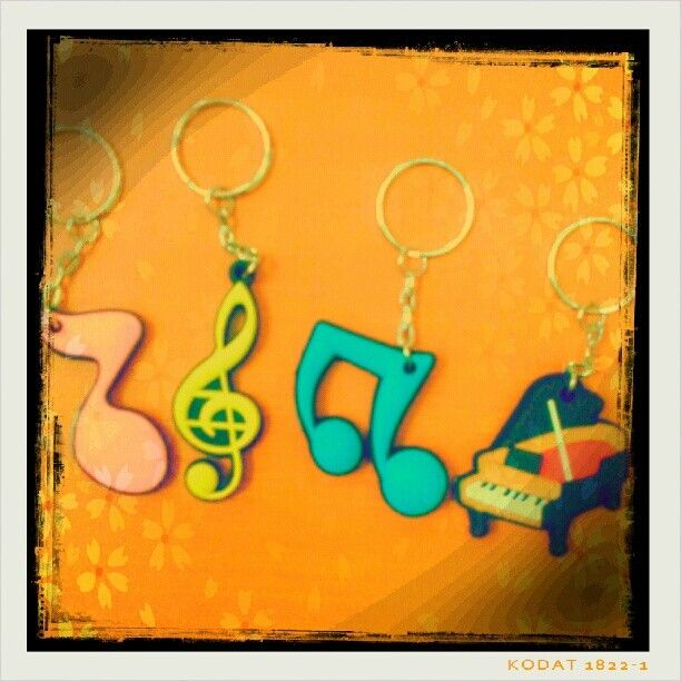 G-clef Key Chain #RhapsodieAccessories