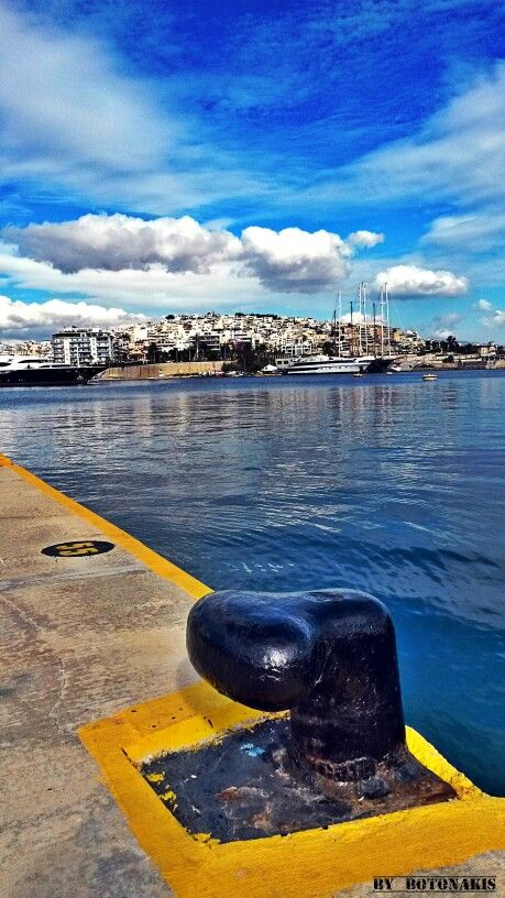 This is my Greece | The Port of Piraeus the largest Greek seaport and one of the largest seaports in the Mediterranean Sea basin