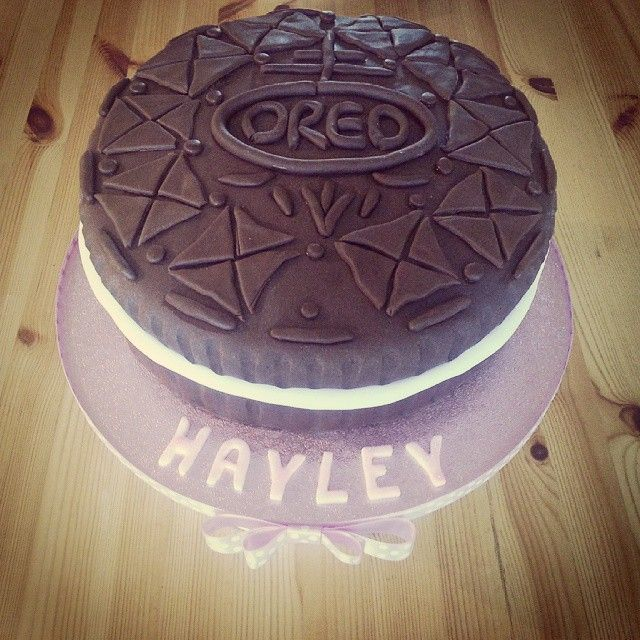 Oreo Cake Decor : Oreo cake by Kerry Marks - For all your cake decorating ...