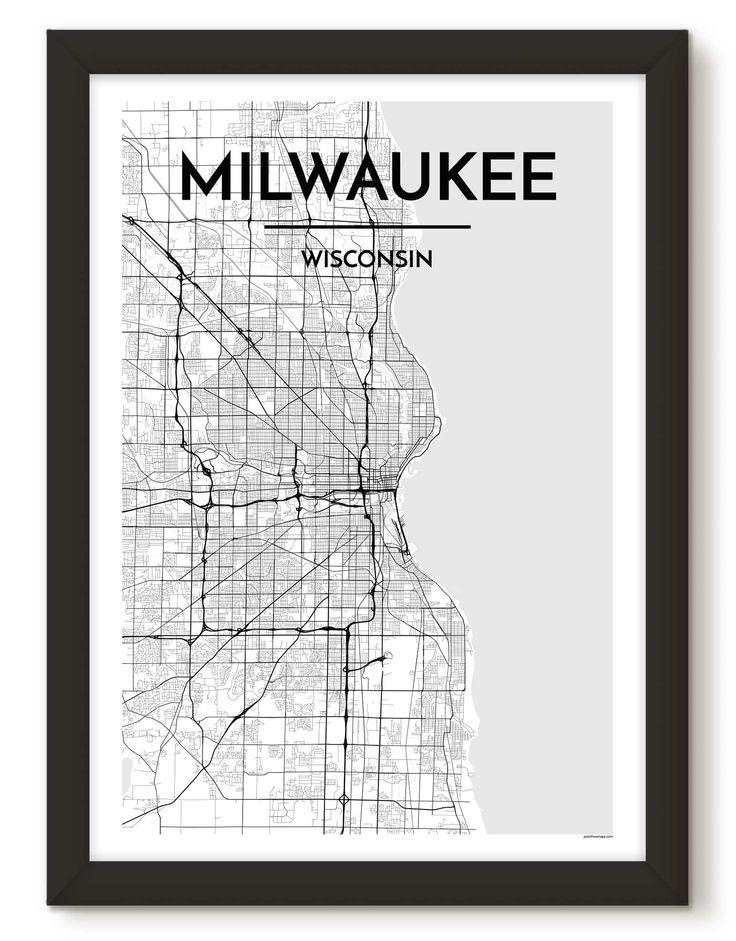 Milwaukee City Map