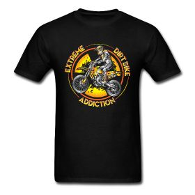 $16.00  Extreme Dirt Bike Addiction shirt Men's T-Shirt Classic-cut standard weight t-shirt for men, 100% pre-shrunk cotton, Brand: Gildan  Buy online @ http://offroadstyles.spreadshirt.com/extreme-motocross-sports-A100885672/customize/color/2