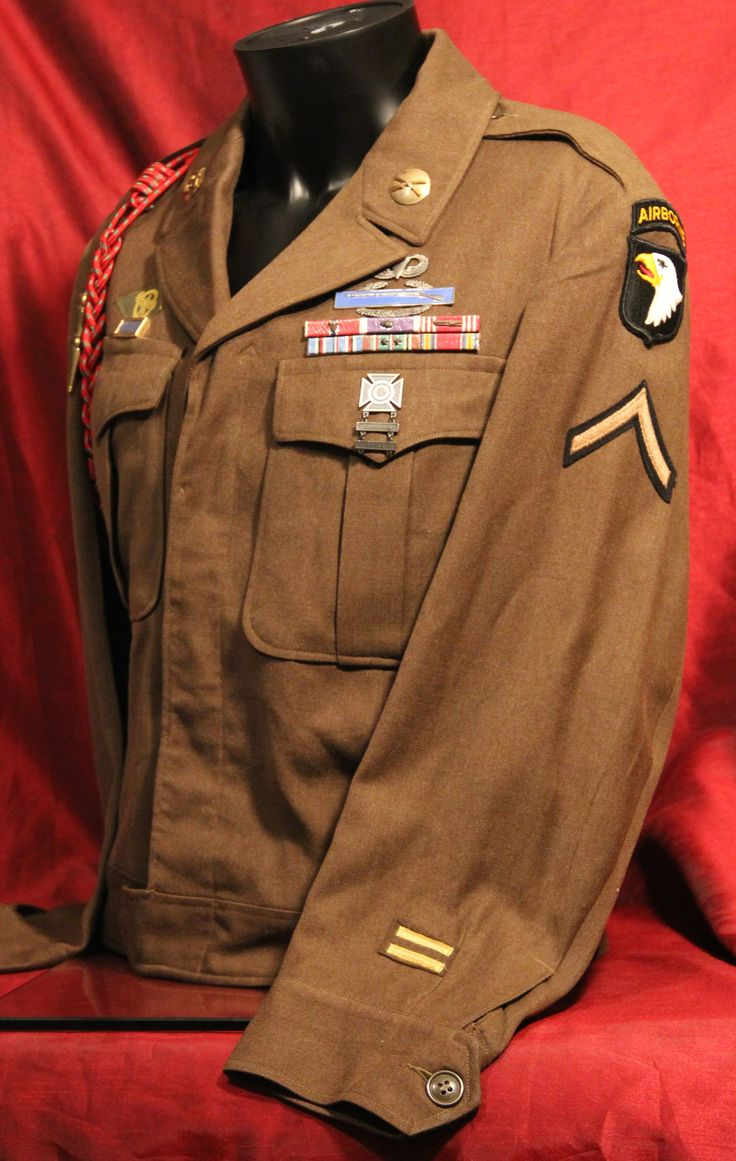 Post Wwii U S Army 101st Airborne Ike Jacket The 101st