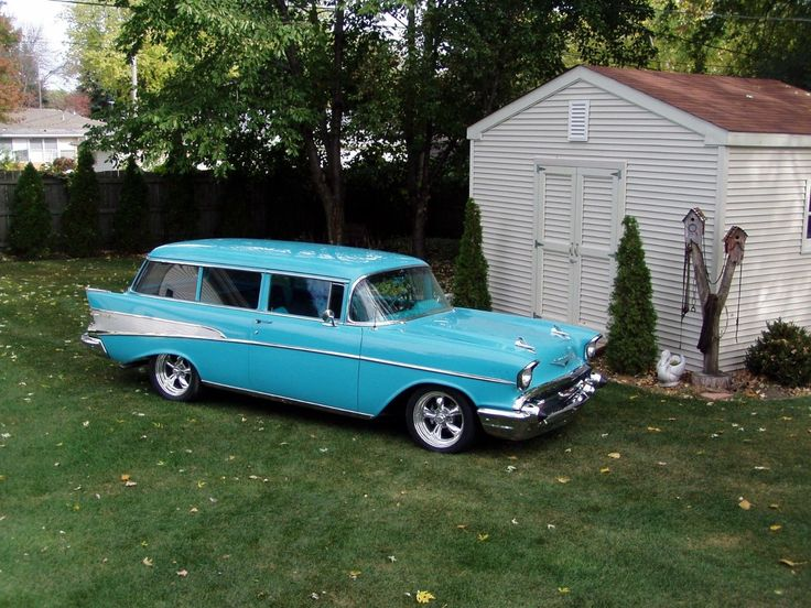 Nice Awesome 1957 Chevrolet Bel Air/150/210 210 1957 Chevrolet 2 Dr. Wagon 2017 2018
