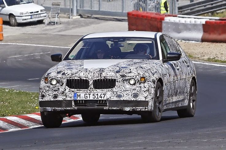 Automotive news and trends: Spypic from the new BMW 5 Series