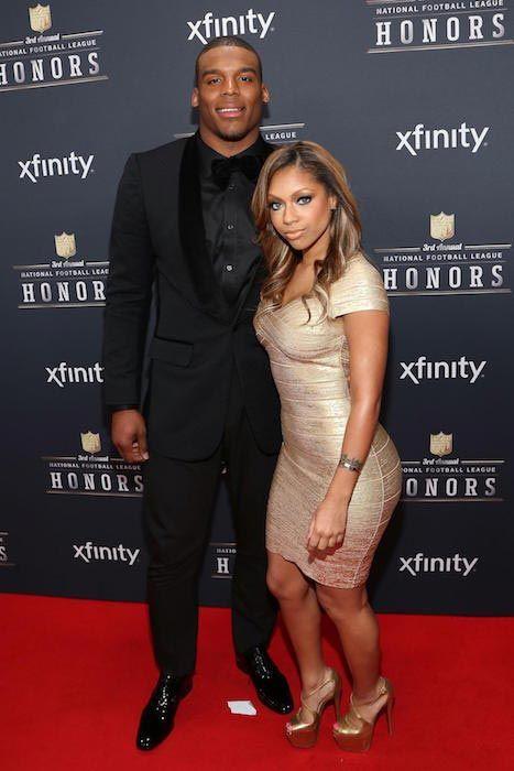 Cam Newton and Shakia Proctor...