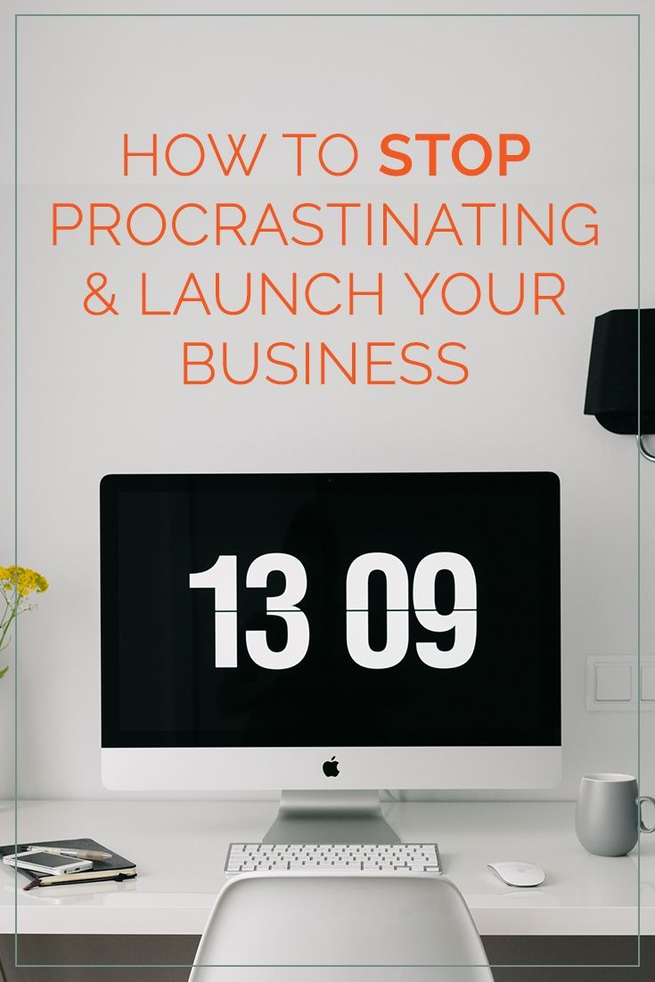 Procrastination can stop us from launching our business and reaching our goals, so this week we're going to talk about the psychology behind procrastination, the steps you can take to be efficent and we'll provide the tools to help you along the way.