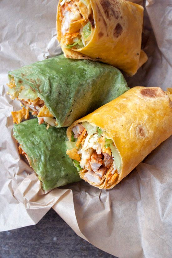 Grill into the fall months and make grilled chicken wraps for your tailgate (or homegate) party. Chicken coated in bar-b-q sauce and wrapped with lettuce, cheese and tortilla chips take your tailgate from really good to really great!