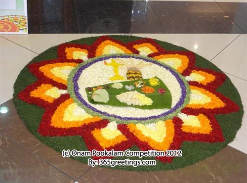 This one features one of the spectrum of Onam festival – the onasadya.