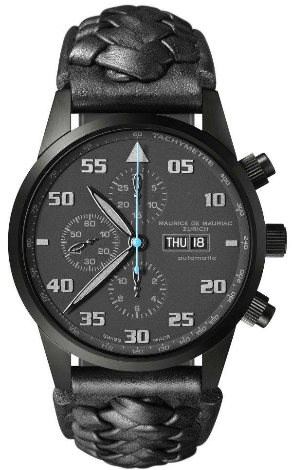 Maurice de Mauriac Summer 2011 Chronograph Modern Watches