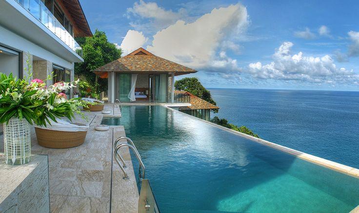 Villa Kamala Bay   Phuket - Mit Infinity Pool und Meerblick
