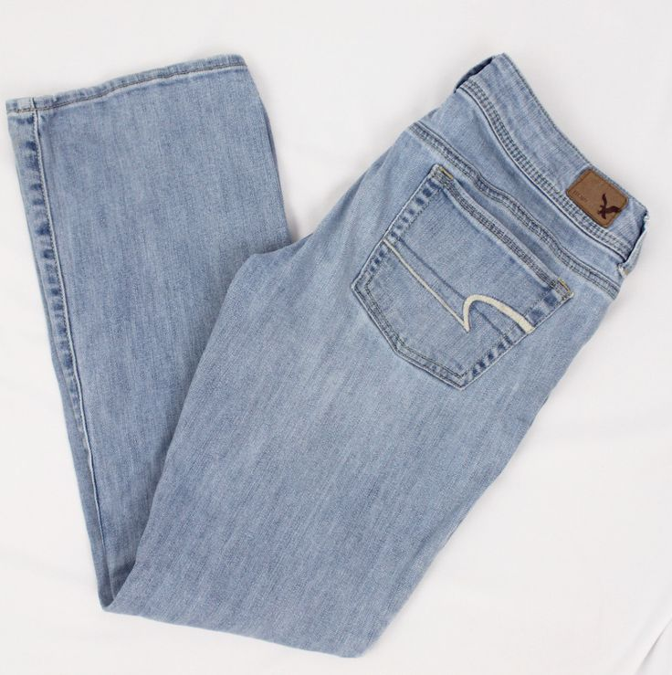 Ameican Eagle Kick Boot Jeans Size 6