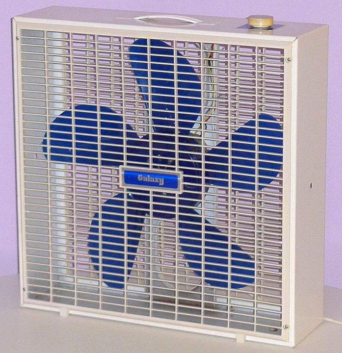 Blue Blade Vintage Galaxy Fan Vintage Electric Fans