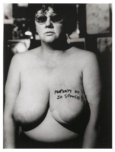 Jo Spence - Property of Jo Spence?, 1982