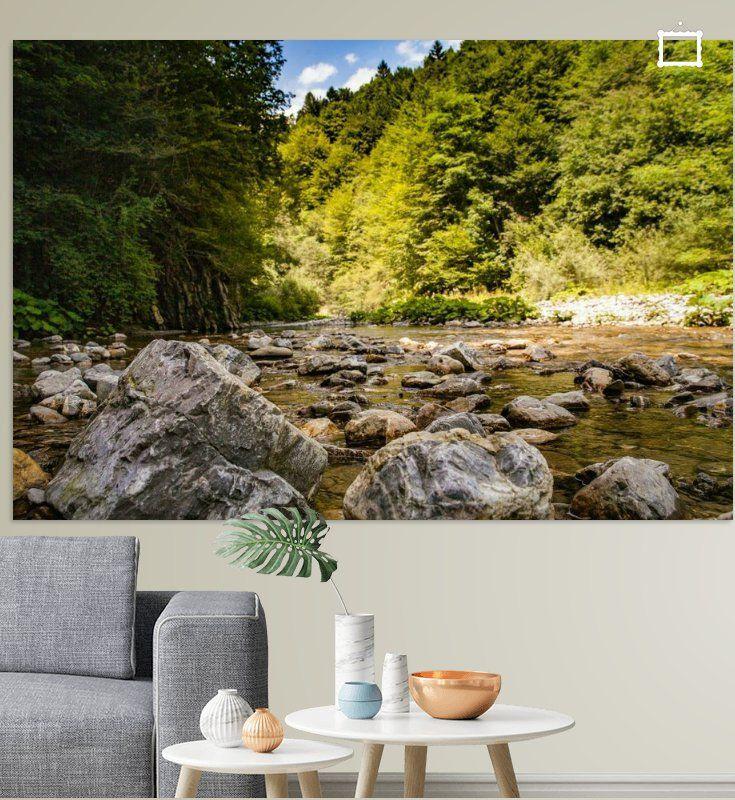 Nieuw in mijn Werk aan de Muur shop: Tolmin's river