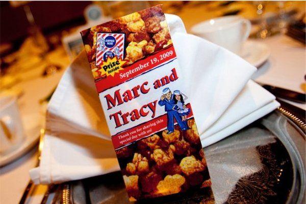Baseball Wedding Gifts: Personalized Cracker Jack Boxes For Baseball Themed