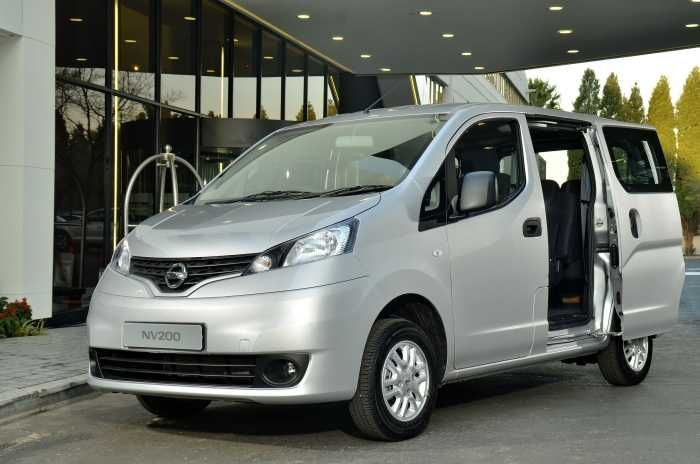 Nissan NV200 Combi gets you moving