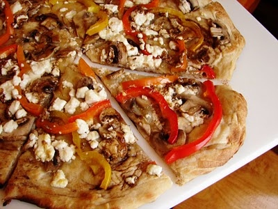 goat cheese pizza | Food | Pinterest