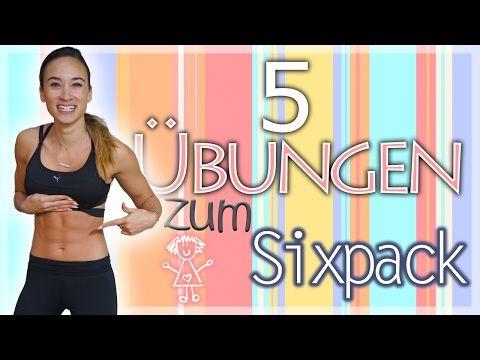 BAUCH Homeworkout - Beste Übungen für ein Sixpack - Bauchfett & Hüftspeck verlieren - YouTube