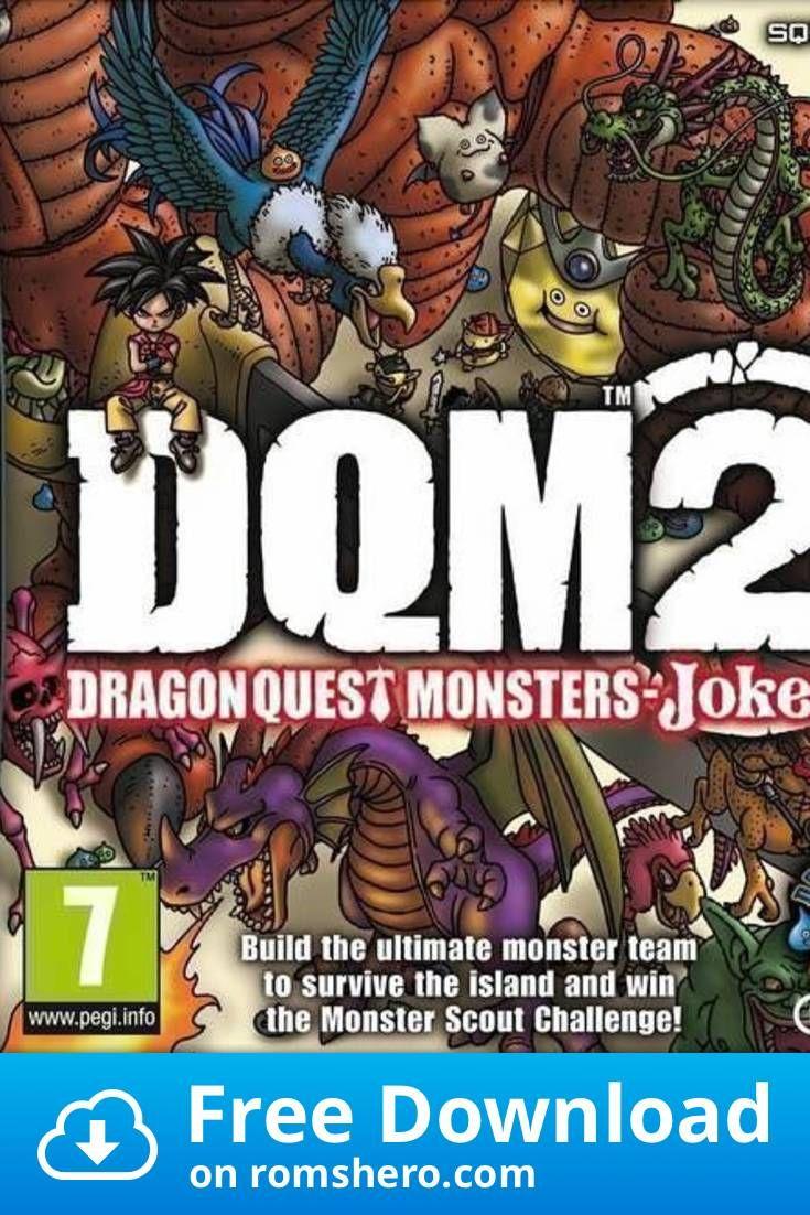 Download Dragon Quest Monsters Joker 2 Nintendo Ds Nds Rom In 2020 Nintendo Ds Dragon Quest Nintendo
