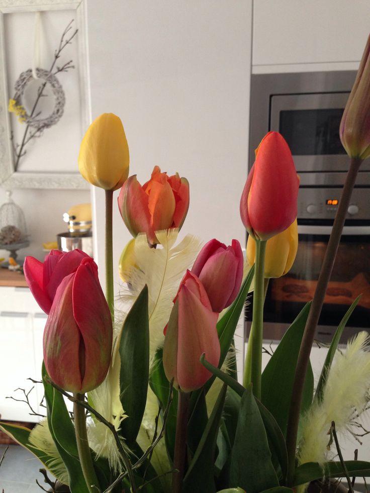 Flowers! Hallo April!