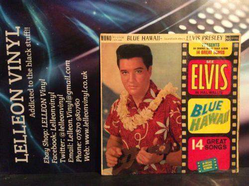 Elvis Blue Hawaii Vinyl Value Elvis Presley Blue Hawaii