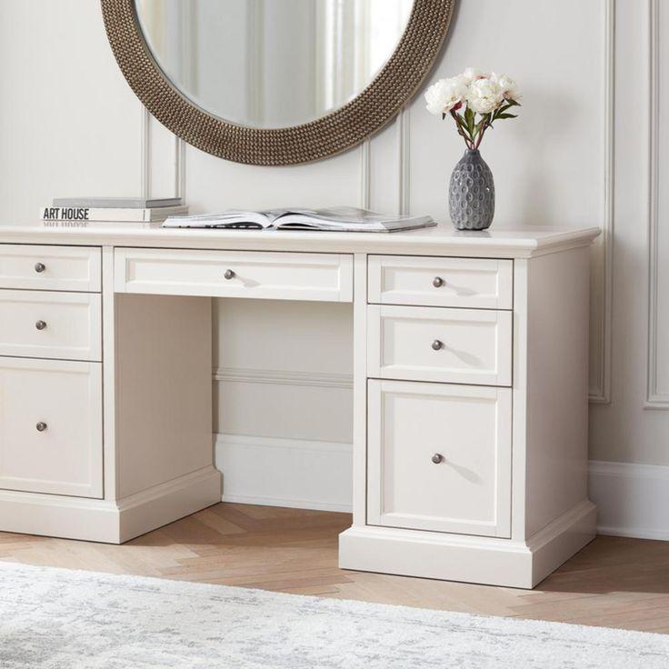 Home decorators collection 61 in rectangular polar white